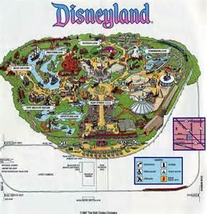 Printable Disneyland Map Anaheim