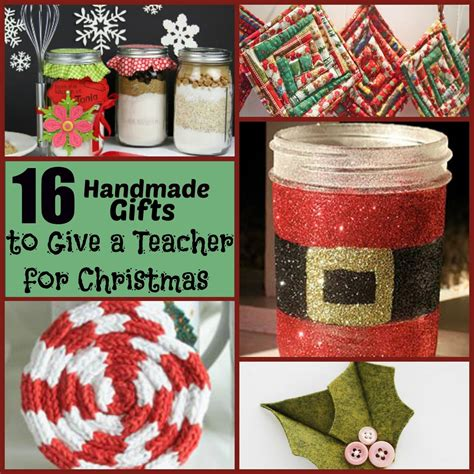 christmas craft ideas for teachers 16 handmade gifts to give a for allfreeholidaycrafts