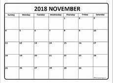 blank november 2018 calendar Baskanidaico