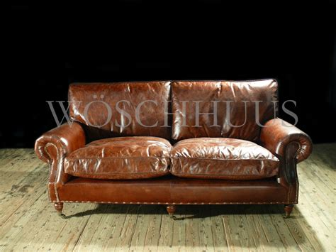 vintage sofa leder ledersofa und sessel lederclubsofa lederclubsessel ledersessel braun clubsessel aus vintage