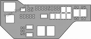 Fuse Box Diagram Lexus Is 300  Xe10  2001