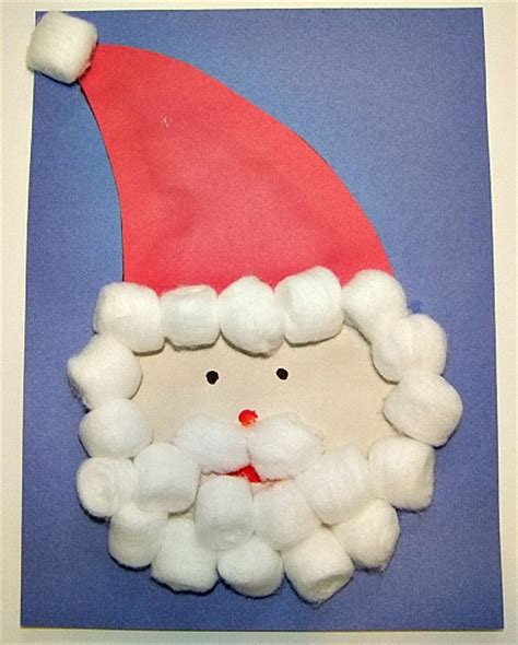 arty crafty day 174 | Christmas Santa Craft For Kids