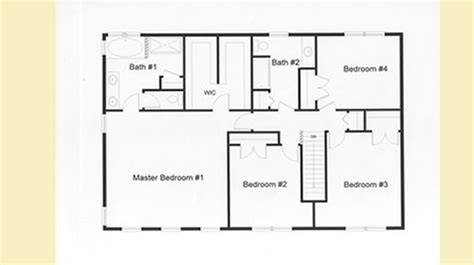 story colonial floor plans monmouth countyocean county  jerseyrba homes