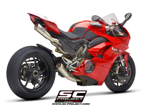 Ducati Picture by Ducati Panigale V4 Exhaust Sc Project Australia