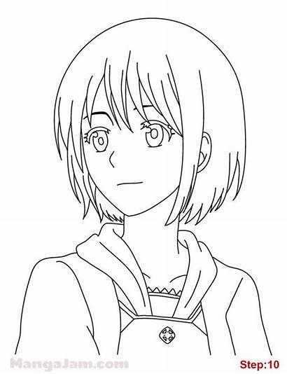 Draw Manga Drawing Shirayuki Snow Hair Anime