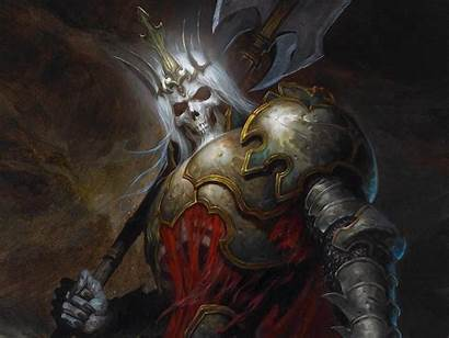 Skeleton King Wallpapers Backgrounds Leoric Cave