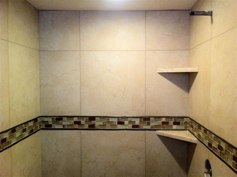 master shower room design feature ecru honed marble wall