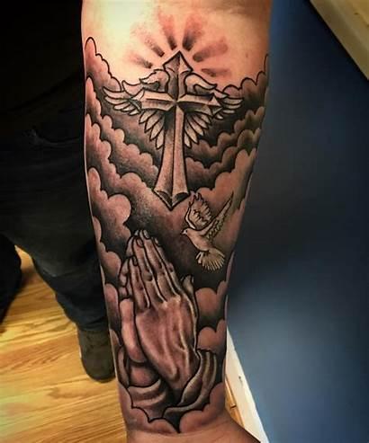 Tattoo Cross Cloud Designs