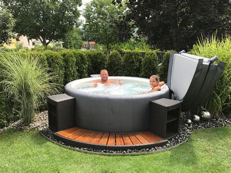 Garten Whirlpool Tub by Softub Whirlpools