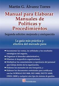 Manual Para Elaborar Manuales De Pol U00cdticas Y