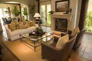 Interior design small spaces ideas, warm living room color