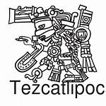 Tezcatlipoca Aztec God Azteca Deus Asteca Dios
