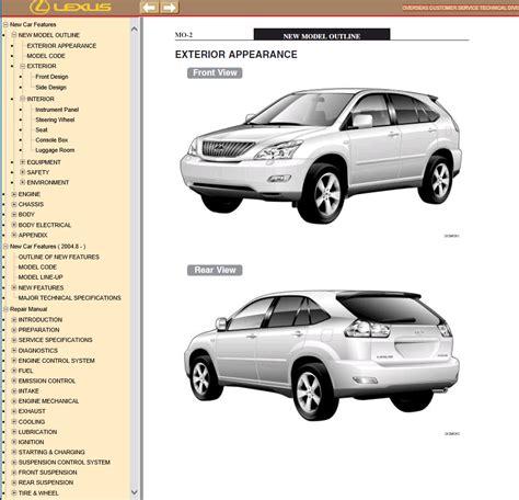 auto repair manual free download 2001 lexus rx free book repair manuals lexus rx350 rx330 rx300 pdf manual