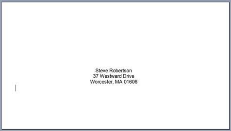 Envelope Address Template Envelope Address Template Invitation Template