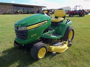 2010 John Deere X500 Lawn  U0026 Garden And Commercial Mowing