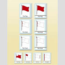 Flag Parts, Early Childhood  Montessori Research & Development