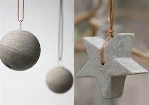 Le Beton Selber Machen by Basteln Mit Beton Zu Weihnachten Weihnachtsschmuck Und