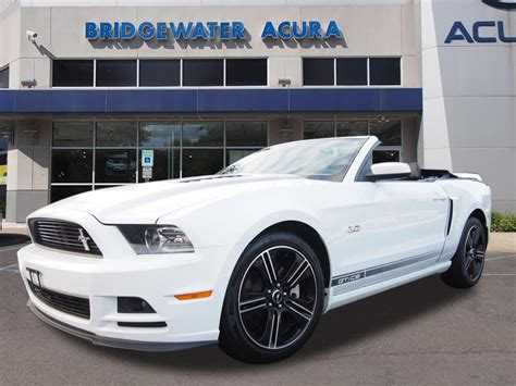 pre owned  ford mustang gtcs convertible