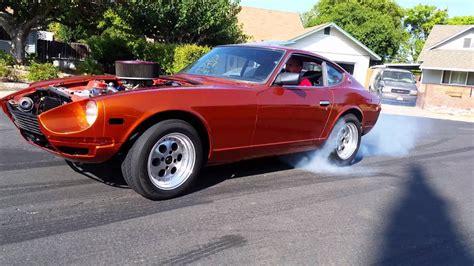 Datsun V8 by V8 Datsun 260z Burnout