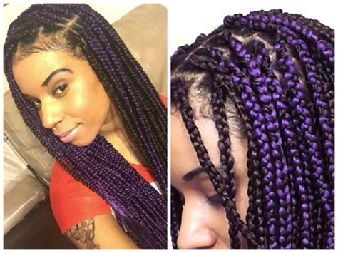 Simple Hairstyle For Braid Extension Hairstyles Best Box