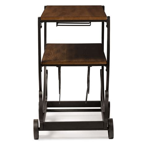 Rolling Bars For Home by Steunk Rolling Bar Cart Modern Furniture Brickell