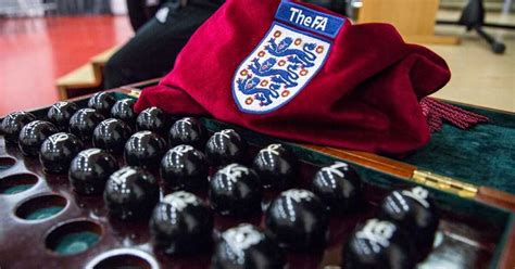 FA Cup fourth round draw ball numbers including Liverpool ...