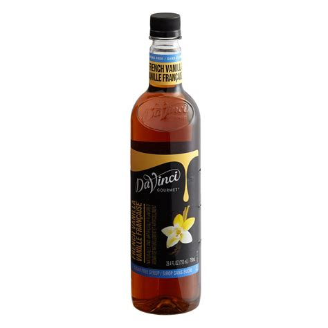 Most are made with latte syrups but a few are not. DaVinci Gourmet SUGAR FREE French Vanilla Syrup - 750 ml Plastic Bottle(s): BaristaProShop.com