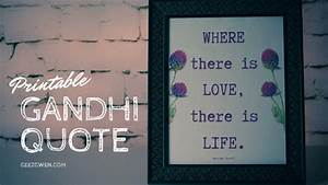 Ghandi Printabl... Printable Gandhi Quotes