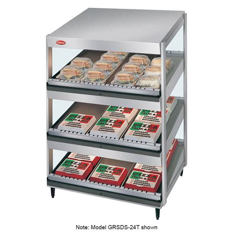 hatco grsds 36t 36 quot self service countertop heated display