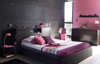 chambre a coucher femme décoration chambre adulte gris