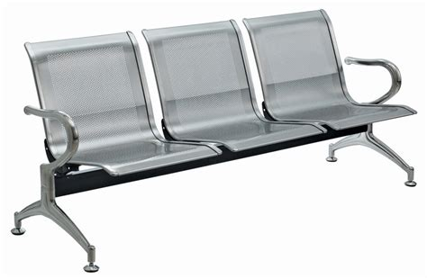stainless steel waiting chair airprot chair waiting