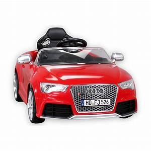 Voiture Electrique Bebe Audi : voiture lectrique pour enfant audi rs5 m tallis e rouge ~ Dallasstarsshop.com Idées de Décoration