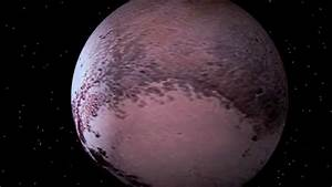 Pluto HD Flyover Simulation w/Real NASA Footage - YouTube