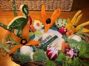 Fruit Carving, Vegetable Carving, Garnishes and Edible ...