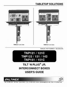 Tilt  N Plug Tnp151c Manuals