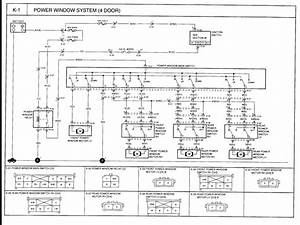 2001 Kia Sportage Power Window Wiring Diagram