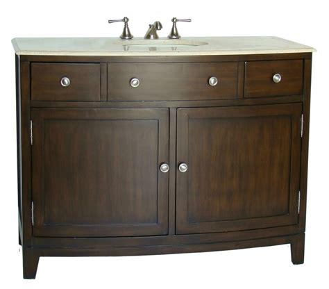 46 Inch Bathroom Cabinet by Cabaret Single Vanities Cabaret Vanity Collection