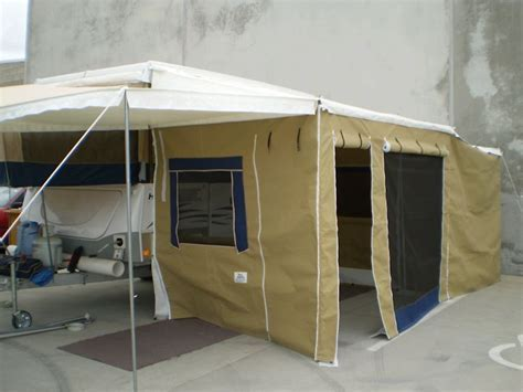 Bag Awning Extension Awnings   Adelaide Annexe & Canvas