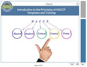 introduction   principles  haccp tutorial