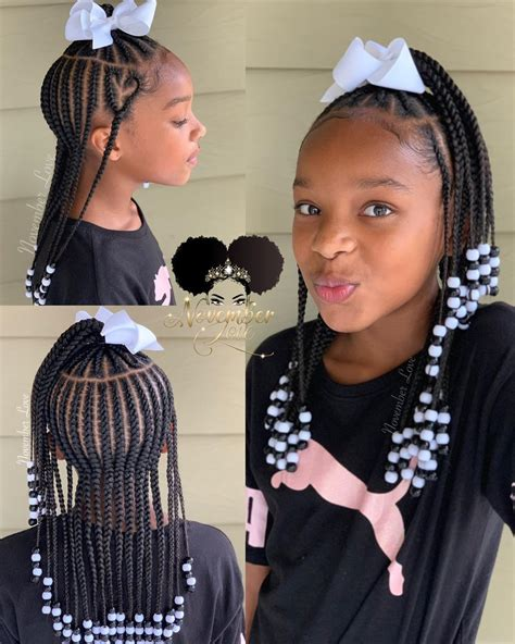 Children's Braids and Beads Booking Link In Bio #