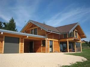 maison poteaux poutres bois avie home With le plan d une maison 2 maison poteaux poutres bois pringy 74 lp charpente