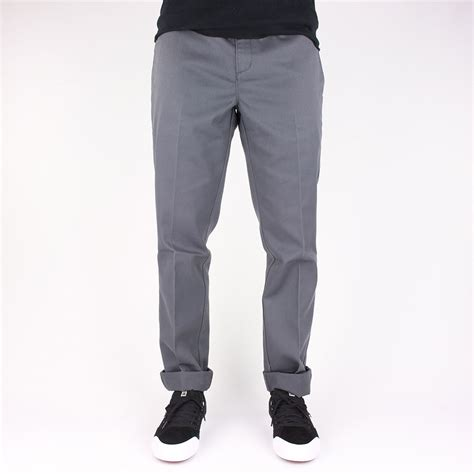 Dickies 872 Slim Fit Work Pant - Charcoal Grey