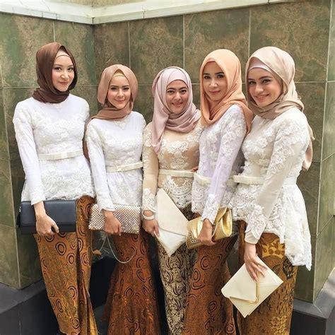 kebaya batik bridesmaid bridesmaids  farhanahkim