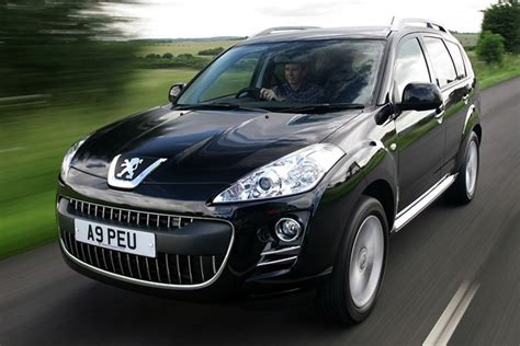 peugeot used car values peugeot 4007 hatchback from 2007 used prices parkers