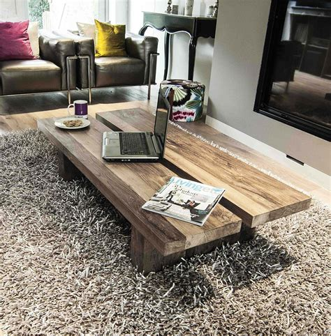 reclaimed wood coffee table  rinjani  sizes