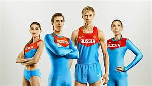 Nike Unveils Uniforms for Russian Track and Field ...