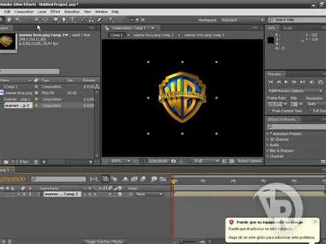 creacion de logo  en  effects youtube