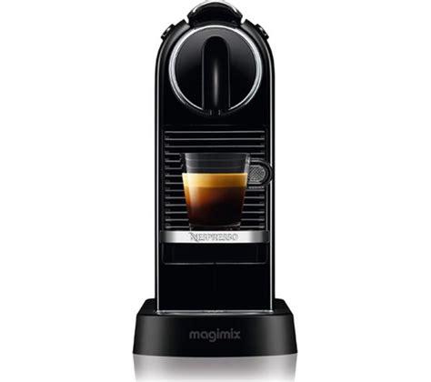buy nespresso by magimix citiz coffee machine black