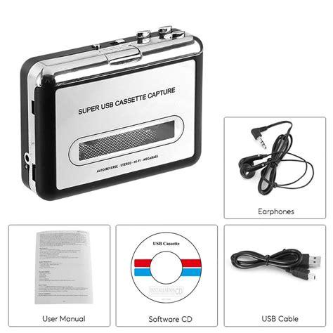 Convertire Cassette Audio In Mp3 Br602 Cassette To Mp3 Cd Converter Via Usb Portable