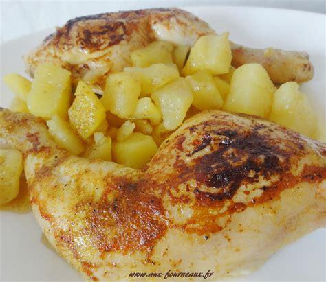 comment cuisiner du chou cuisse de poulet rôtie sauce curry aux fourneaux
